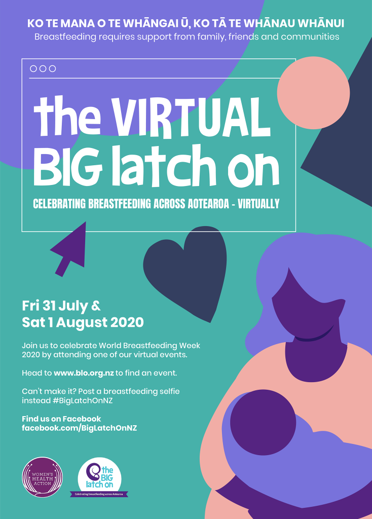 The Virtual Big Latch On 2020 Womens Health