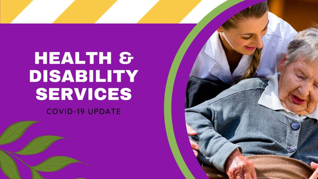 Health & Disability Services